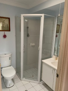 diamond-fully-framed-pivot-door-white-shower-screen